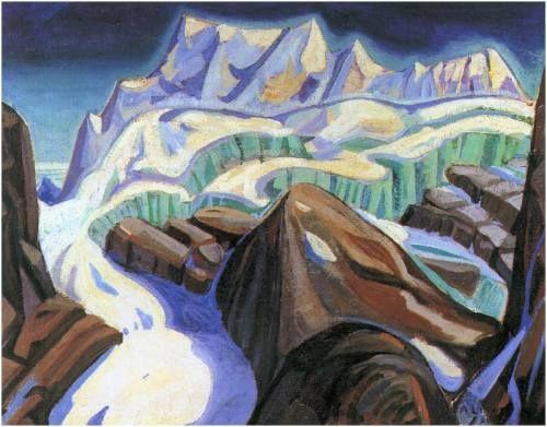 Arthur Lismer: Glacier