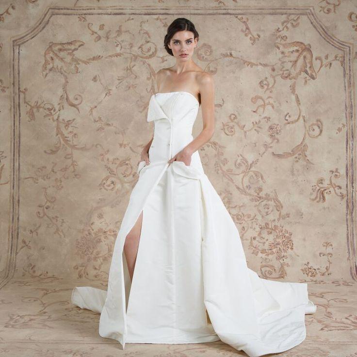 Tara #weddingdress from Sareh Nouri fall 2016 wedding dresses   itakeyou.co.uk: