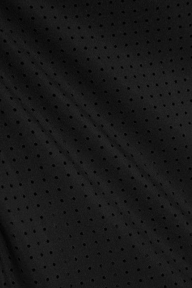Ward Whillas - Marlen Perforated Rash Guard - Black - x small