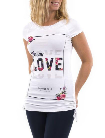 Tee-shirt avec encolure orné de dentelle - Mode Choc | Le grand magasin de la mode