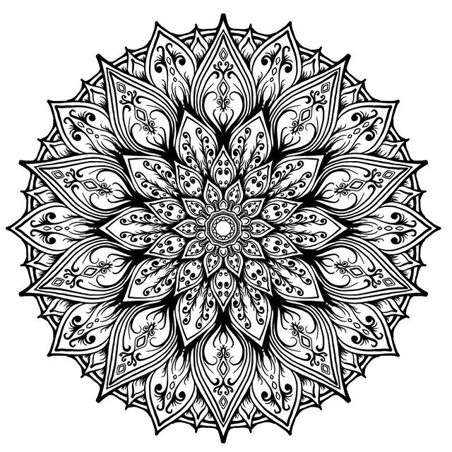 What colors should this be. #art #illustration #drawing #blxckmandalas #artist #mandaladesign #drawing #mandala #beautiful #kaleidoscope #kaleidoscopic #heymandalas  #beautiful_mandalas #geometry  #drawing #symmetry  #artoftheday  #mandalala #wacom  #zentangle #mandalasworld #featuregalaxy #mandalamaze #symmetrybuff #zen_dala #symmetry_art #symmetryghosts #rottenpixels #mandalas #endowment_explora #mandala_sharing