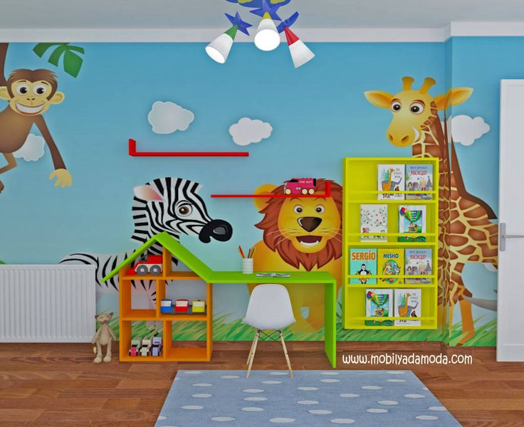 Montessori Bebek Çocuk Odası Tasarımı  (Kimden: MOBİLYADA MODA )