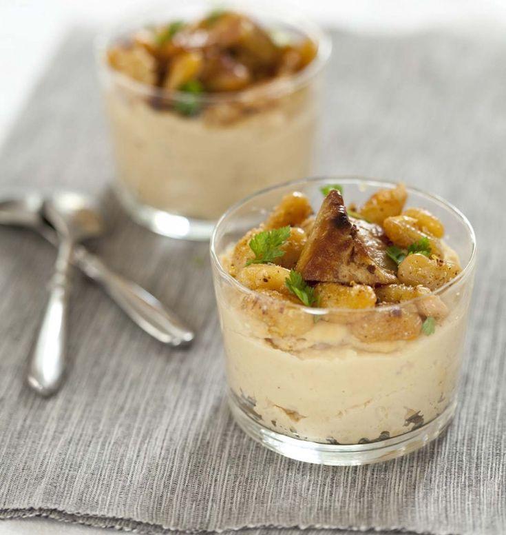 Verrines de foie gras et haricots tarbais - Ôdélices : Recettes de cuisine faciles et originales !