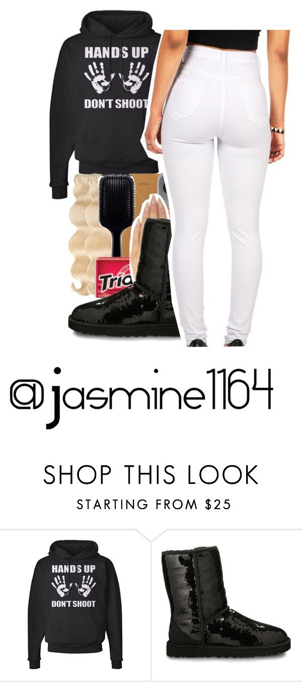 """""""Hands Up Dont Shoot"""" by jasmine1164 ❤ liked on Polyvore featuring UGG Australia"""