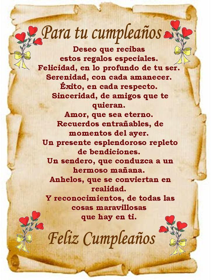 marisel@reflexiones.com: Feliz Cumpleaños, deseo que recibas estos regalos especiales: