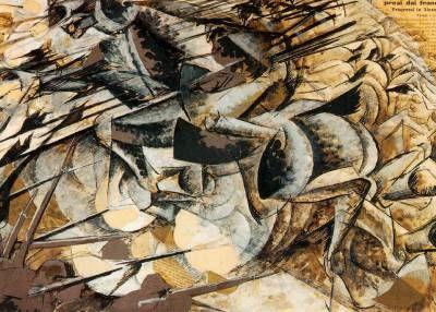 Umberto Boccioni cent'anni dopo, un uomo del XX secolo #arte