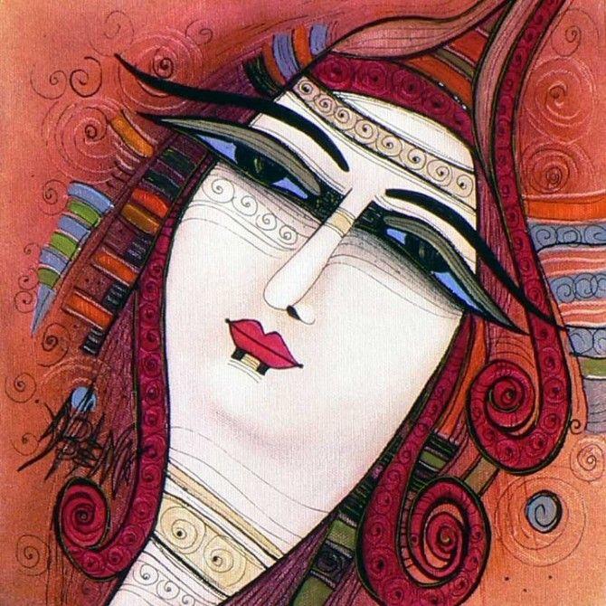 Painter Albena Vatcheva   An Authentic Talent