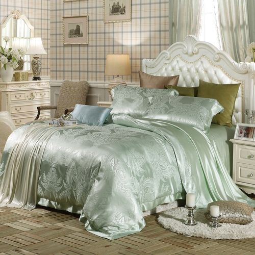 25+ best ideas about Silk bedding on Pinterest
