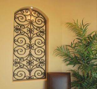 Wrought Iron Look Wall Decor Prepossessing 51 Best Niche Decor Images On Pinterest  Art Niche Niche Decor Inspiration