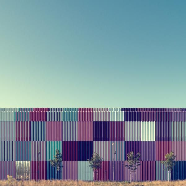 Colorful Patterns in Architecture - Photography by Nick Frank