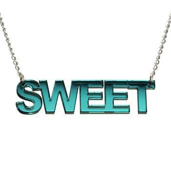 Green Sweet Lucite Necklace Body Candy. $9.99. Save 66% Off!