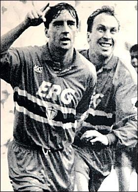 Roberto Mancini & David Platt