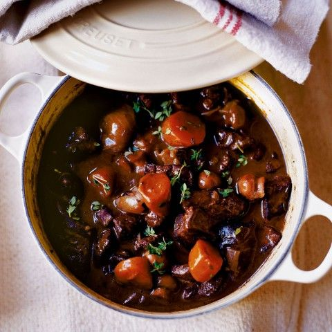 Venison Casserole with Boulangere Potatoes - Woman And Home