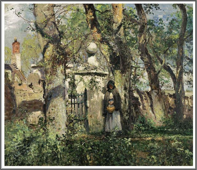William Page Atkinson Wells (1872-1923), Manx Country Lane.