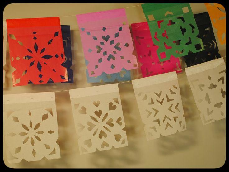 17 mejores ideas sobre como hacer papel picado en pinterest ...