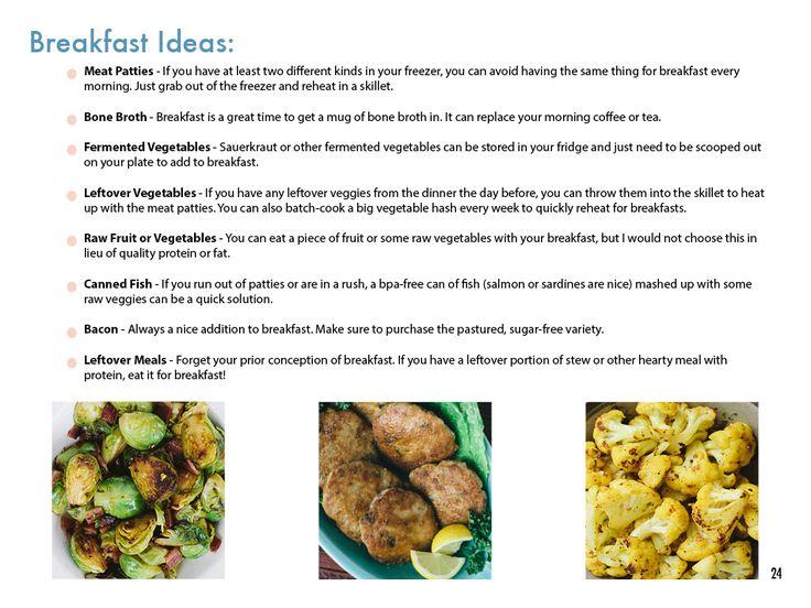 Eggless Breakfast Ideas from The Autoimmune Paleo Cookbook