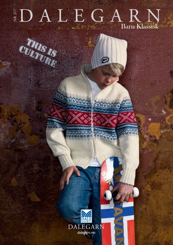#DaleGarn Free Download Patterns DG217 Barn Klassisk Knits for Tweens Kids #Retro