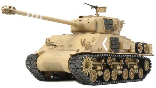 Tamiya 300056032 RC Sherman Panz.Super F.O. T08/M07 – Tanque radio control en miniatura (escala 1:16) – Comprar Gangas