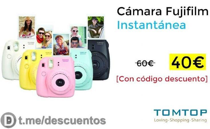 Cámara Fujifilm Instantánea disponible por 40 - http://ift.tt/2x5ErHw