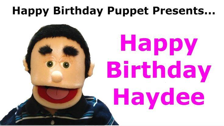 Funny Happy Birthday Haydee Video - TAGS: happy birthday haydee, song happy birthday, funny birthday song, happy birthday puppet, happy birthday, happy birthday to you