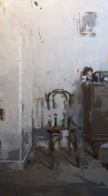 "Saatchi Art Artist Agnieszka Pilat; Painting, ""Memory of Time"" #art"