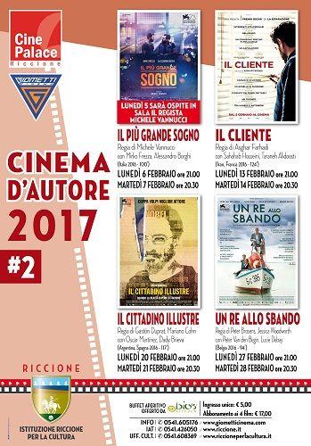A Riccione Cinema dAutore torna a febbraio con 4 nuove pellicole