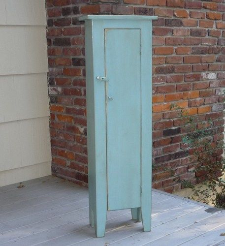 Tall Narrow Freestanding Cabinet Bath The Cabin