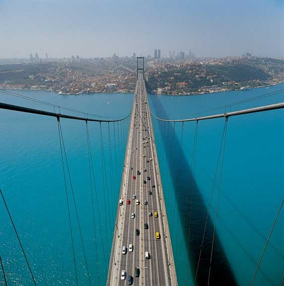 İstanbul ♥  Hey, kids - remember eatting al fresco under this bridge? Thanks,Mrs. Tartar -the Betzens still remember.
