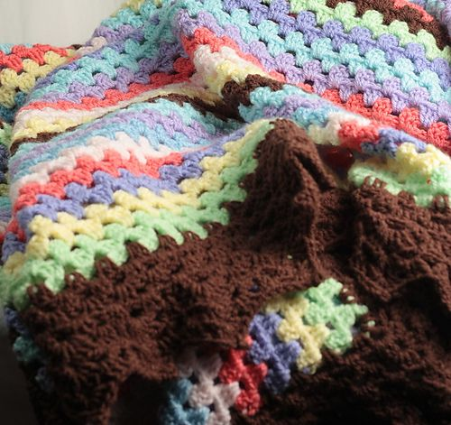 1000 Images About Crochet Afghans Blankets Throws On