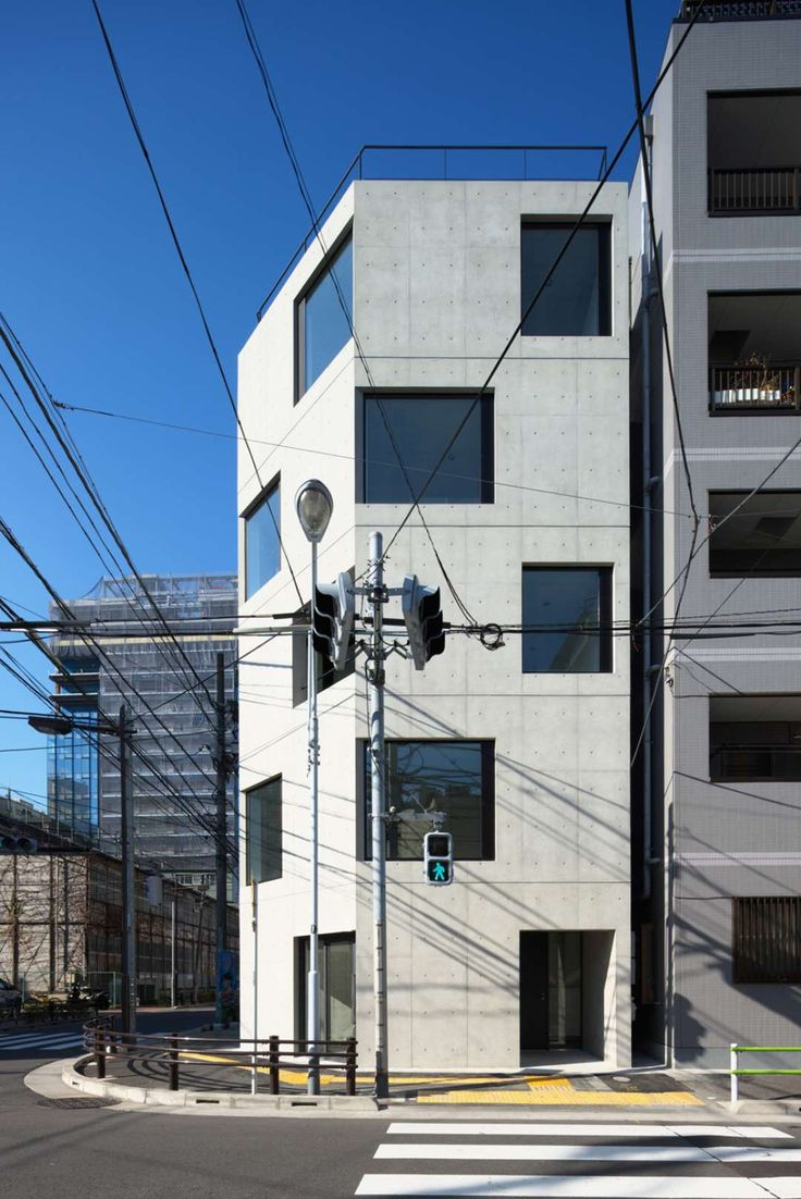 Concrete Façades: 7 Powerful Projects from Japan - Architizer