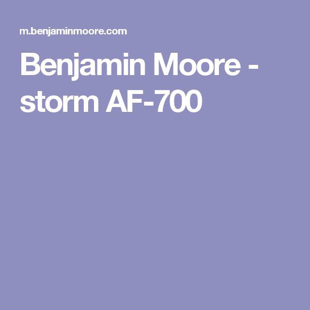 Benjamin Moore - storm AF-700