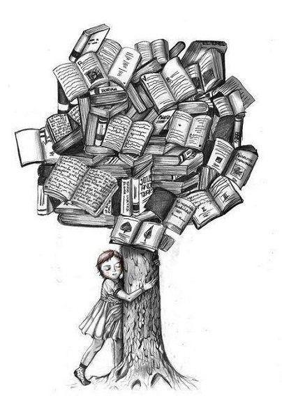 reading, books, illustrations