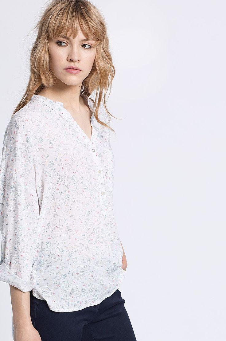 Medicine - Koszula Decadent kolor kremowy RS16-BDD050 - oficjalny sklep MEDICINE online