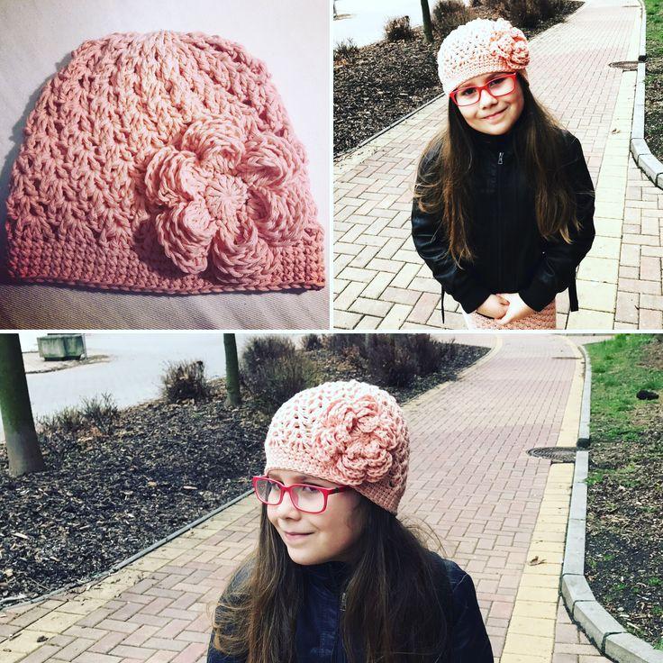 Háčkovaná čepička Crochet cap