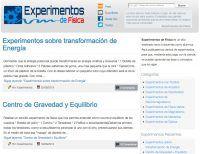 15 blogs con experimentos de Física y Química | Educación 3.0