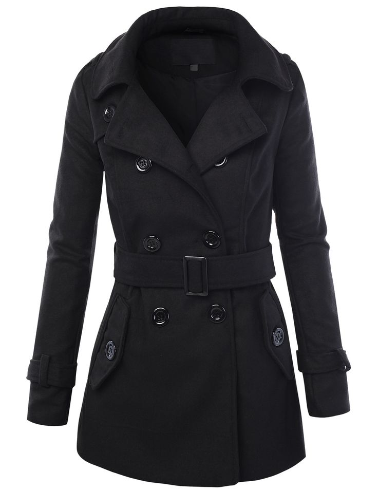 The military peacoat has been a tradition for generations and the Sterlingwear Women's Black Authentic Peacoat is for the discriminating customer who is looking for the most accurate reproduction of the USN peacoat available anywhere.
