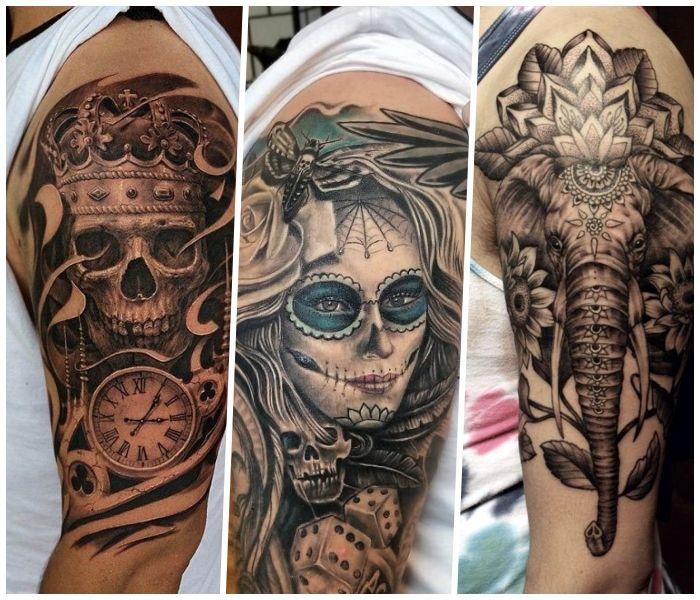 Tattoos Oberarm Männer