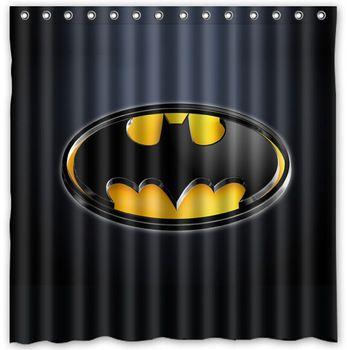 29 Best Images About Batman Shower Curtain On Pinterest