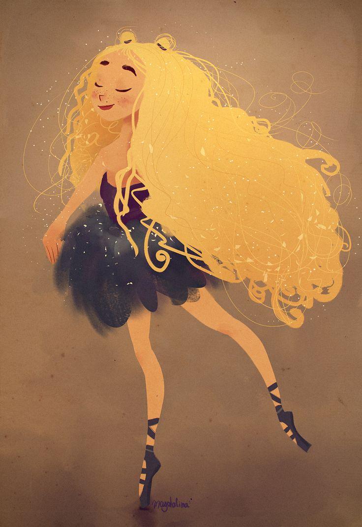Мне очень понравилась тема, вот мои другие speedpaint на вьющиеся светлые волосы, 30 минут. следуйте за мной на Facebook / ArtStation