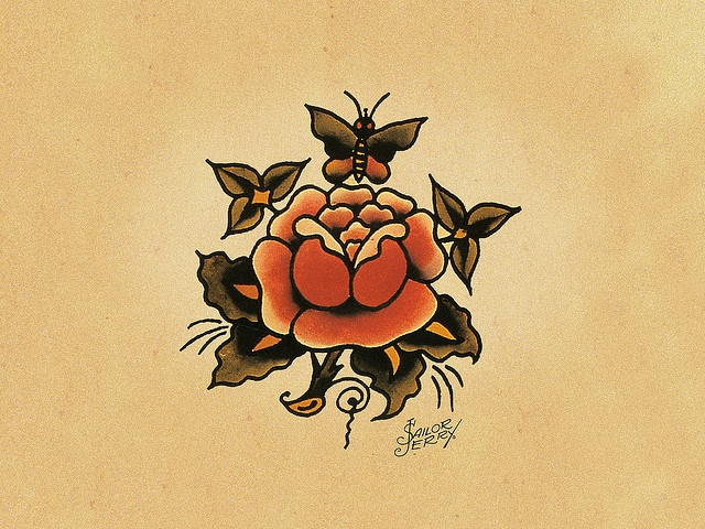 sailor jerry rose-