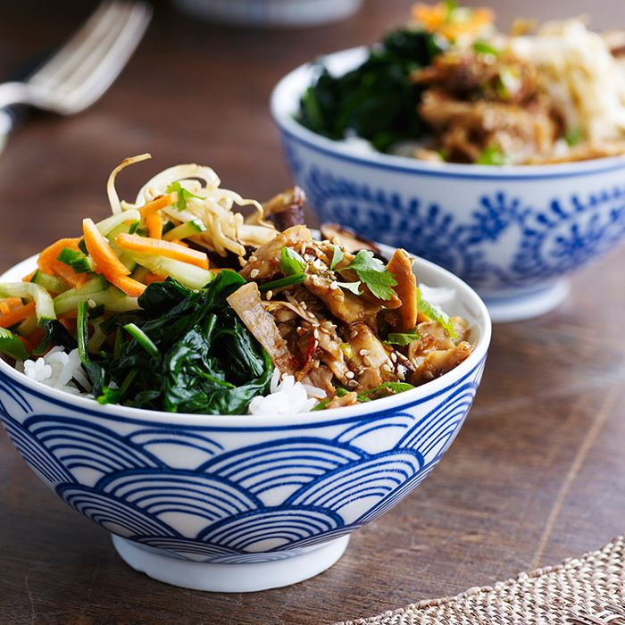 """Vegan """"Sushi"""" Rice Bowl"""