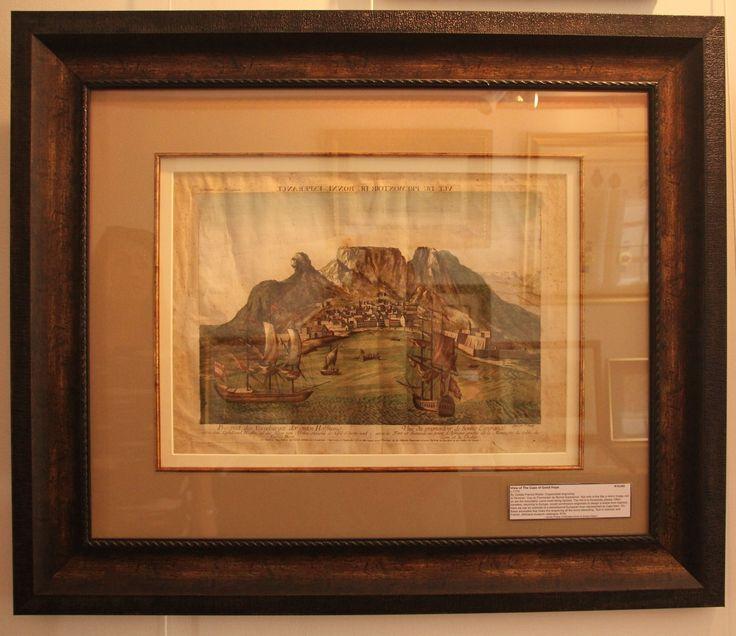 View of the Cape of Good Hope (Vue du Premontoir du Bonne Esperance) by Gotlieb Francis Riedel ca 1779