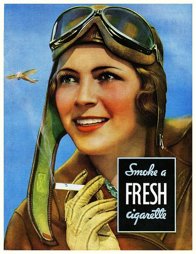1931 vintage ad Fresh Cigarettes