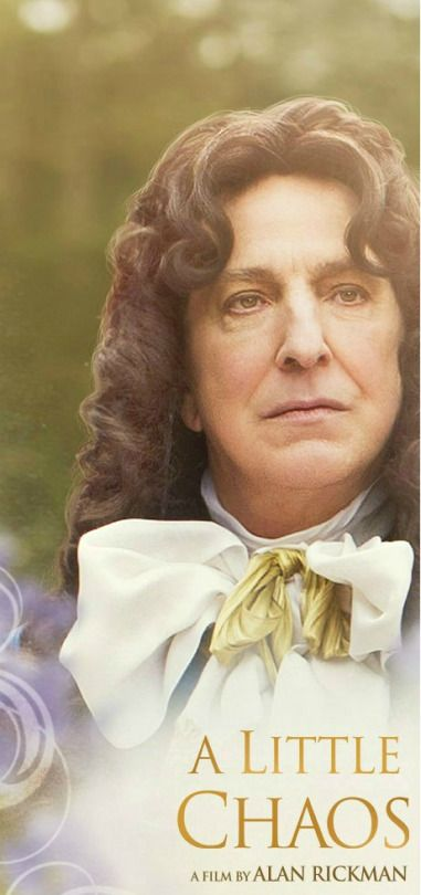 Alan Rickman as King Louis XIV in his directorial film, A Little Chao