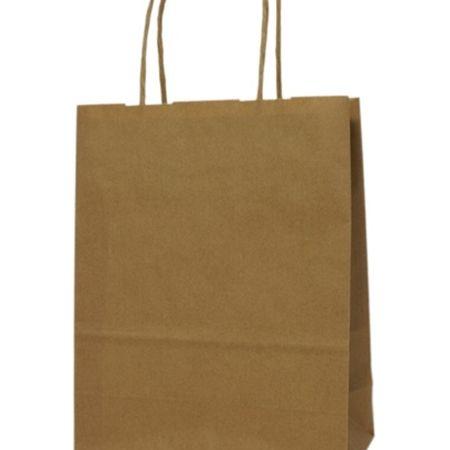 Warto mieć w zanadrzu torbę papierową! http://www.opako.com.pl/torba-180x80x210-brazowa-id-1250