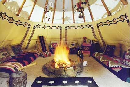 tipis interiors google search lake pinterest interiors and search. Black Bedroom Furniture Sets. Home Design Ideas