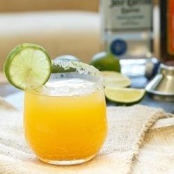 Simple Peach Margarita recipe
