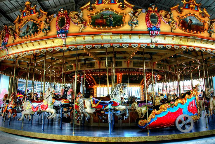 Historic carousel at Luna Park, St Kilda. Image by Alan Lam / CC BY ND 2.0