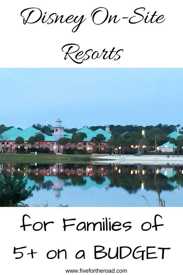 On-Site Disney Resorts on a Budget #disneyvacation #disneyresorts #familytravel #disneyworld