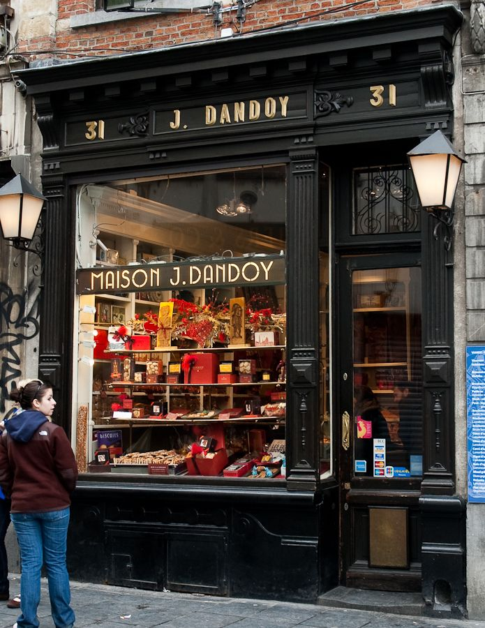 Maison J. Dandoy bakery in Brussels, Belgium had the most delicious biscuits! (have to check ;)
